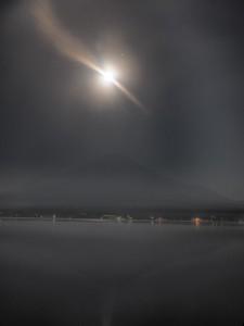 富士さんと満月